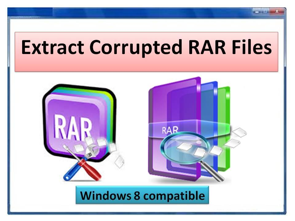 Extract Corrupted RAR Files Ver